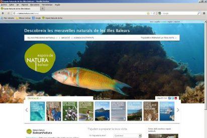 El Govern presenta una web para que nos asomemos a los espacios naturales protegidos