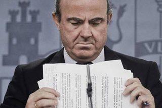 """De Guindos: """"El Gobierno no prevé mas recortes ni subidas de impuestos"""""""