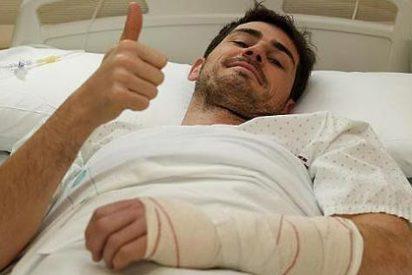 Iker Casillas ha sido operado de la mano y estará de dos a tres meses de baja