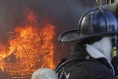 Un alemán prende fuego a su chalet tras ser desahuciado por impago
