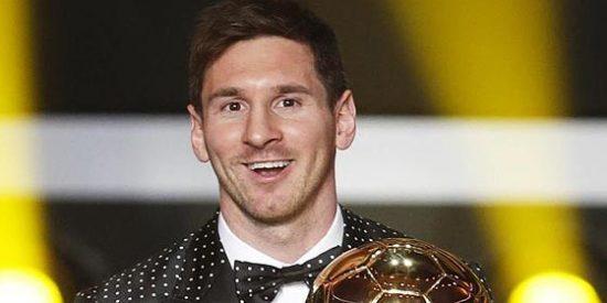 ¡¡¡El Balón de Oro es para Leo Messi!!!