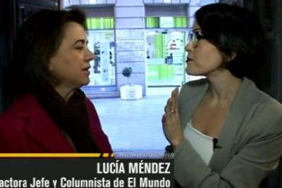 """Lucía Méndez: """"Hay cosas que escribe Salvador Sostres que me parecen inadmisibles porque traspasan barreras de la educación y el buen gusto"""""""