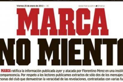 """Marca se defiende: """"No es nuestra intención querer manejar al Real Madrid. Nuestro periódico ni pone ni quita entrenadores"""""""