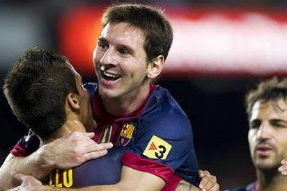 El Barça de Tito y Messi redondea en Málaga una histórica primera vuelta de Liga