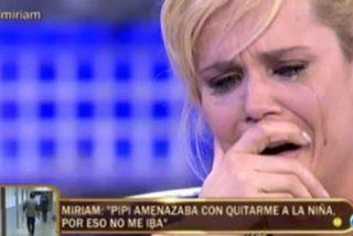 """A Pipi Estrada y a Miriam Sánchez se les va de las manos su separación: """"¡Eres un hijo de puta! ¡Sí, yo tuve un problema con el alcohol!"""""""
