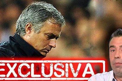 """Mourinho: """"Si es verdad la portada de 'Marca', me voy del Real Madrid"""""""