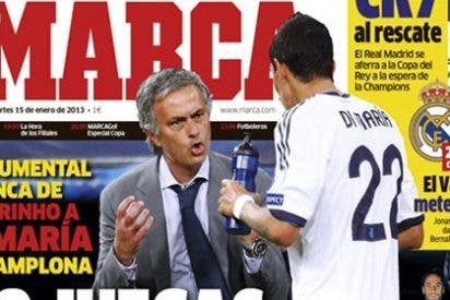 """Mourinho, a Di María: """"Cuando ganabas poco dinero jugabas mucho; desde que renovaste no juegas ni mucho ni poco"""""""