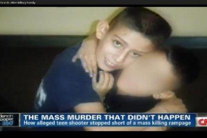 Un chico de 15 años mata a sus padres y hermanos a tiros y luego le manda a su novia la foto de la madre muerta