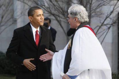 Obama va a misa antes de jurar su cargo
