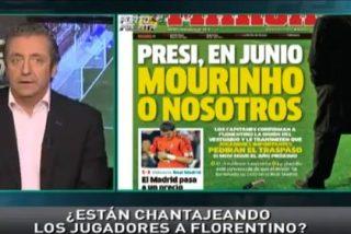 """Josep Pedrerol, sobre la portada de 'Marca': """"Si yo soy Mourinho, y Ramos e Iker piden mi cabeza, conmigo no vuelven a jugar más"""""""