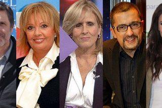 Cinco 'tránsfugas' de la tele a los que la estrategia de cambiar de canal no les salió muy bien