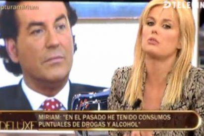 Sexo del malo, adicciones, pasado porno y violencia en el triste espectáculo de Pipi Estrada y Miriam Sánchez en el 'Deluxe'