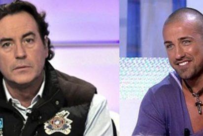Pipi Estrada y Rafa Mora se enganchan en los pasillos de Telecinco tras pelearse en Twitter