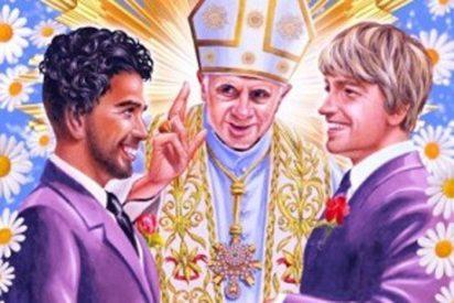Una campaña con el Papa casando a una pareja gay desata la polémica en Nueva Zelanda