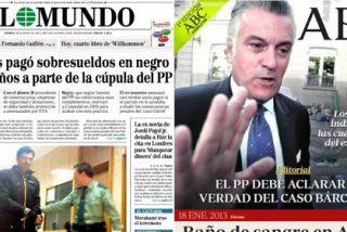 El Mundo pone en el ojo del huracán a parte de la cúpula del PP por cobrar sobresueldos en negro de Bárcenas