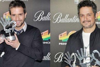 Alejandro Sanz y Pablo Alborán, los grandes triunfadores de los Premios 40 Principales