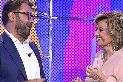 """María Teresa Campos a Jorge Javier: """"Pensé que te había dado un ataque de reinona marica mala"""""""