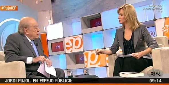 """Jordi Pujol se encoleriza con el famoso borrador contra CiU: """"¿Qué coño es la UDEF?"""""""