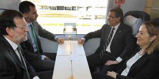 """Percival Manglano: """"Al ver a Mas en el AVE, pensé en los catalanes que cogerán ese tren para que no les frían a impuestos"""""""