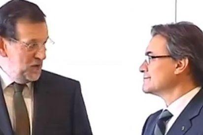 Rajoy sigue sin plantar cara a Artur Mas