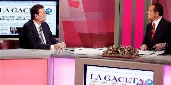 """Julio Ariza: """"Apoyamos a Rajoy cuando sus amigos de La Razón o A3 disfrutaban de un pacto bien engrasado con Teresa Fernández de la Vega"""""""