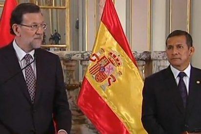 """Rajoy, ante el presidente de Perú: """"Quiero agradecer al gobierno cubano su protagonismo"""""""