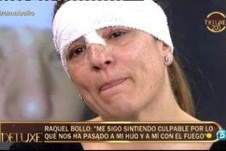 Pornografía emocional en la reaparición de Raquel Bollo en 'Deluxe' tras su accidente: Culpa, heridas y las lágrimas de Belén Esteban