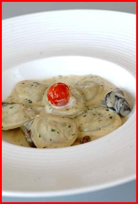 Raviolis de Foie a la crema con setas y verduritas, una receta para todos los bolsillos