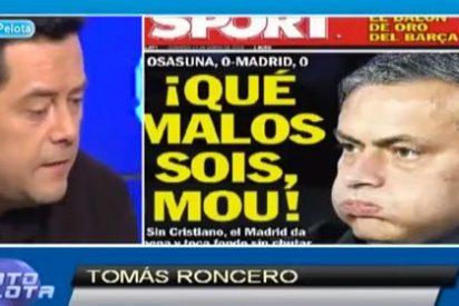 """Tomás Roncero: """"La portada del 'Sport' es patética, trincherista y llena de complejos"""""""