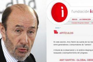 La fundación socialista IDEAS paga 3.000 euros por artículo a una 'fantasmal' escritora