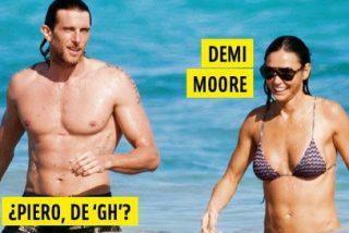 Sorpresa absoluta: El nuevo 'novio' de Demi Moore no es otro que… el ex concursante de 'GH9' Piero Righetto
