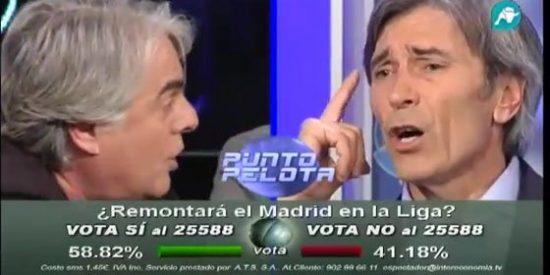 """Siro López pierde los papeles con 'Lobo' Carrasco: """"¡Yo soy tan deportista como tú! La diferencia es que tú te lo has llevado y yo no"""""""