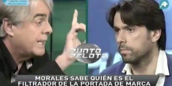 """Roberto Morales presume de saber quien fue el informador del diario Marca: """"Es una persona del club que quería meter mierda contra Casillas y Ramos"""""""