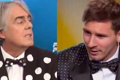 """Siro López ridiculiza la chaqueta de Messi en el Balón de Oro: """"Viéndole, pensé que era la gala internacional del circo"""""""