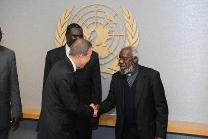 Un candidato al premio Nobel de la Paz en Madrid
