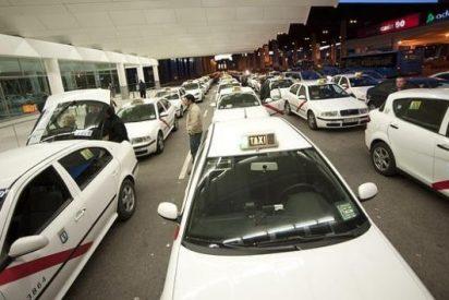 Los taxistas donan dos mil kilos de alimentos a Mensajeros de la Paz