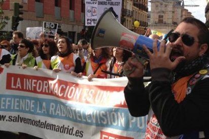 """Trabajadores de Telemadrid temen ser agredidos: """"En las Asambleas sindicales preguntan cuándo nos van a poder hostiar"""""""