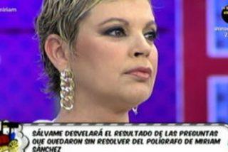 """Incomodísimo y tenso cara a cara entre Terelu Campos y Miriam Sánchez hablando de Pipi Estrada: """"Yo no me tengo que ir de aquí"""""""