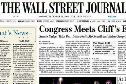 'The Wall Street Journal' denuncia las implicaciones políticas del desastre Bankia