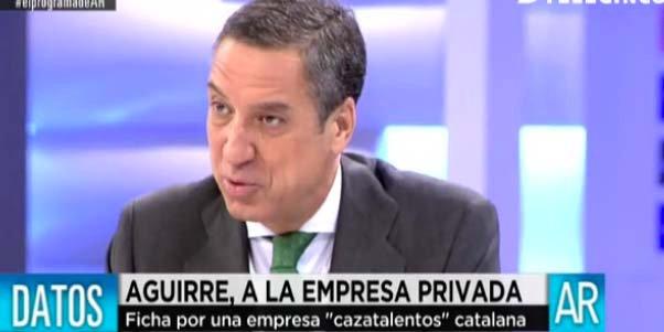 """Eduardo Zaplana se niega a hablar de Terra Mítica: """"Ni hoy es el día, ni me apetece responder a eso"""""""
