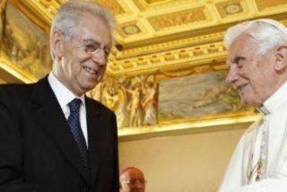 """Monti, """"muy turbado"""" por la renuncia de Benedicto XVI al Pontificado"""