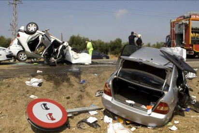 Muere un peatón en Ibiza embestido por un coche que perdió el control por la lluvia
