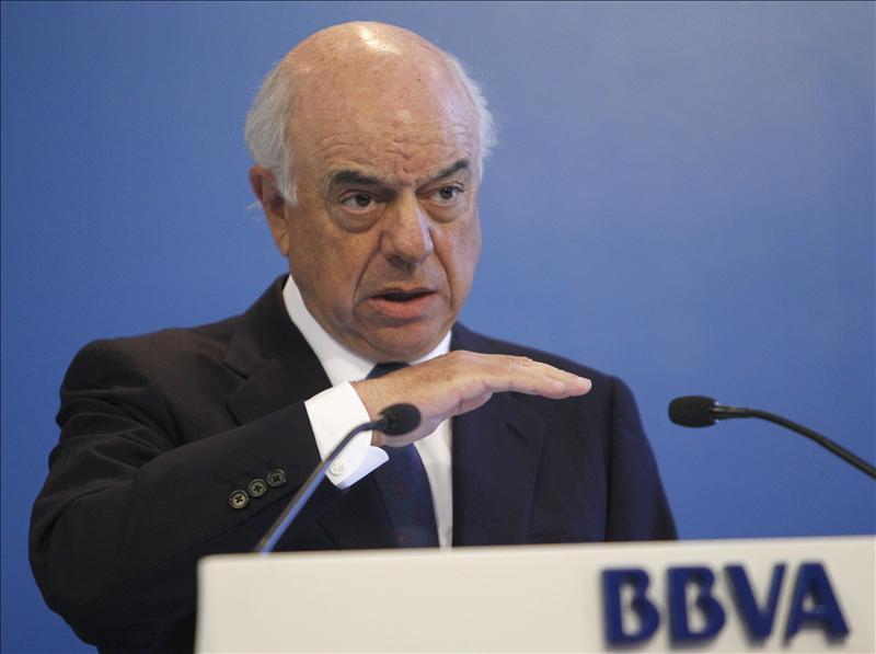 """Presidente de BBVA: """"La destrucción de empleo público será positiva para el futuro de España"""""""