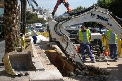 La negligencia de Cort dejó a miles de palmesanos sin agua al romperse una tubería