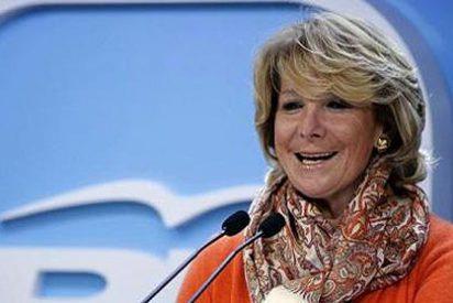 """Esperanza Aguirre: """"Contad conmigo para una regeneración democrática"""""""