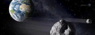 El asteroide 2012DA14 ha pasado esta vez 'rozando' la Tierra