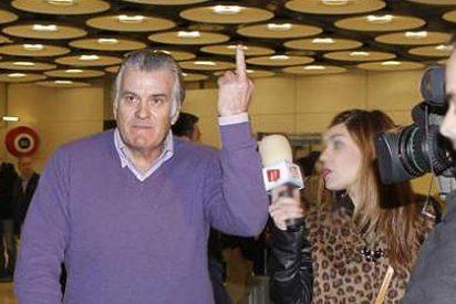 Luis Bárcenas regresa a España y les hace una peineta a Mariano Rajoy y los contribuyentes españoles
