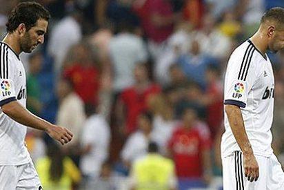 Una pareja en apuros: Higuaín y Benzema están cuestionados por su pobre rendimiento