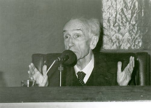 Fallece el jesuita Gómez Caffarena