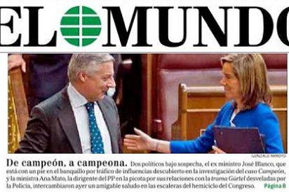 'Campeón y Campeona': Pedrojota quiere las cabezas de Pepe Blanco y Ana Mato